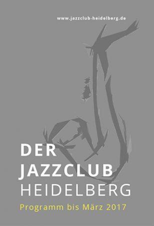 Jazzclub Heidelberg Flyer 01 - Titel